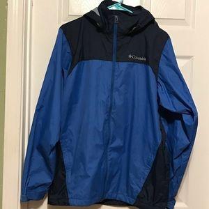 Columbia rain/wind jacket light weight